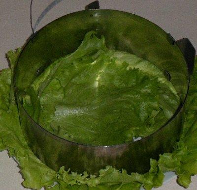 свекольный салат с мясом