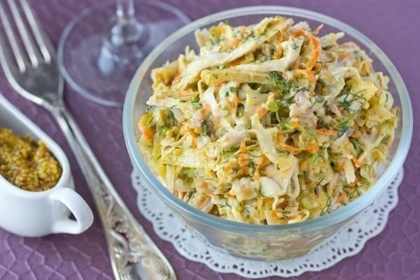 салат с лавашом