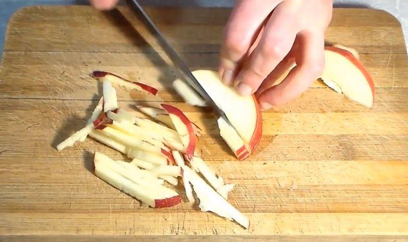 приготовление салата из пекинской капусты