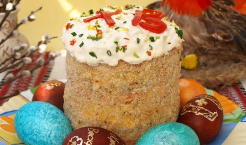 праздничный салат на Пасху