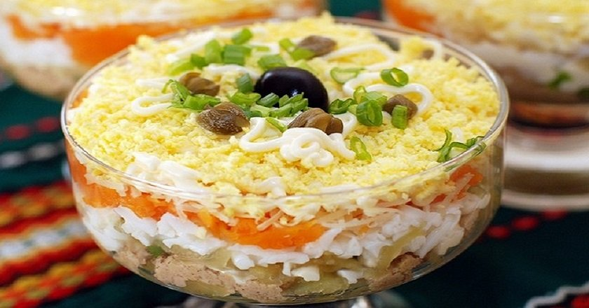 Салат «Печёнкин»