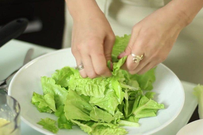 как приготовить салат с мандаринами