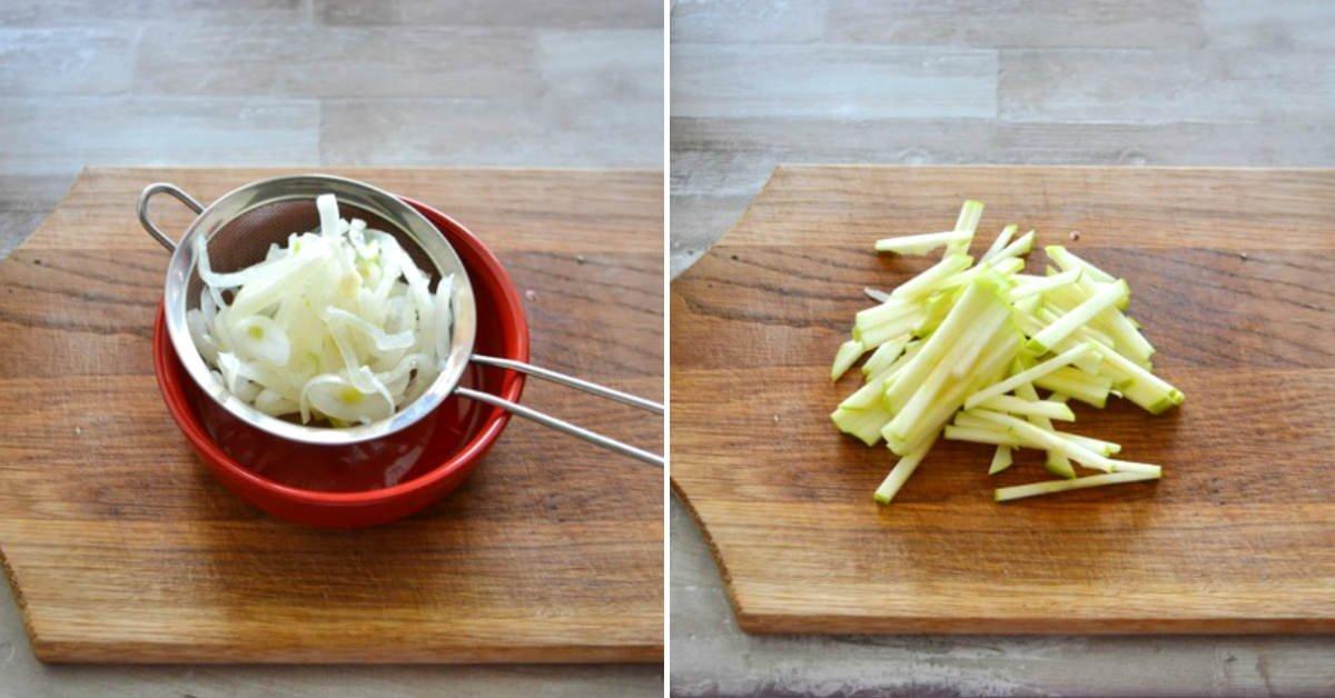 вкусный салат с кальмаром