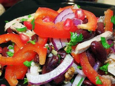 Салат «Тбилиси» с говядиной