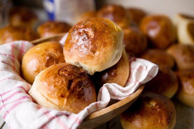 рецепт сдобных булочек с начинкой