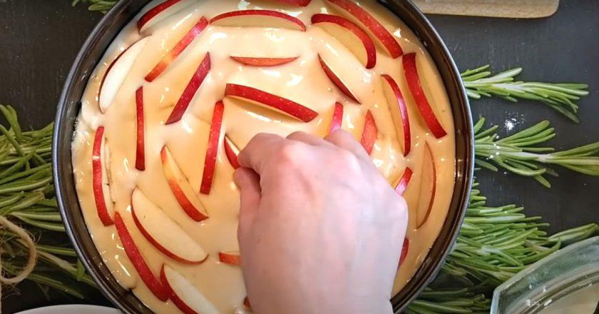 Проста шарлотка на кефірі в духовці як приготувати, покрокові рецепти від «Це Смак»