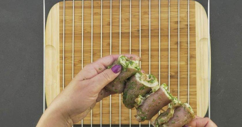 Шашлычки-гриль из свинины