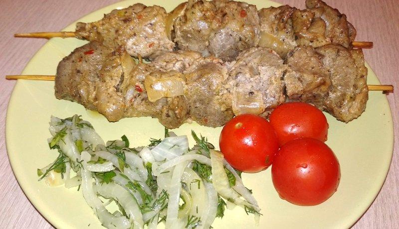 шашлыкиз свинины