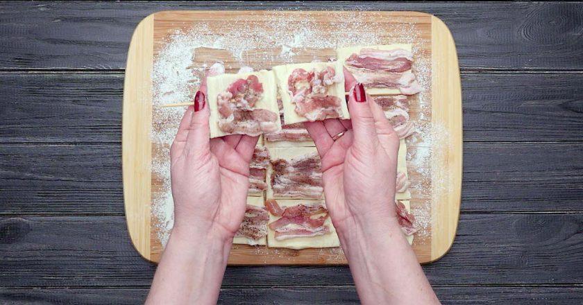 «Шашлик» з беконом - готуємо з покроковими фото