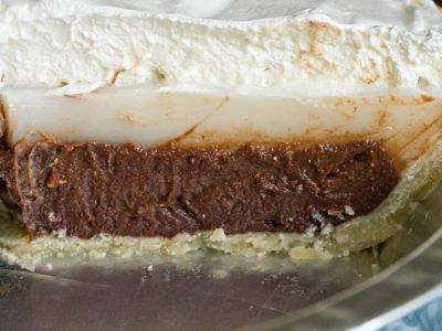 Шоколадно-кокосовый гавайский пирог