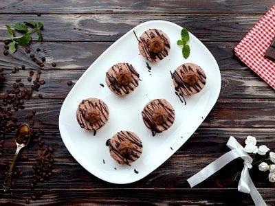 Шоколадный мини-чизкейк