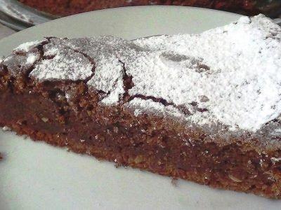 Шоколадный пирог из кабачков