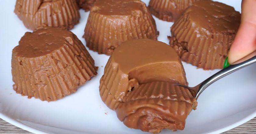 Шоколадный пудинг без выпечки