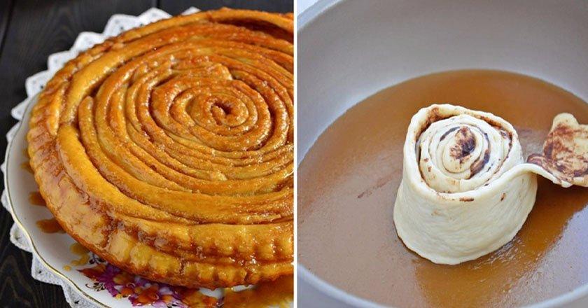 Шотландский спиральный пирог