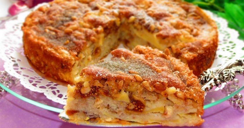 Cицилийский яблочный пирог