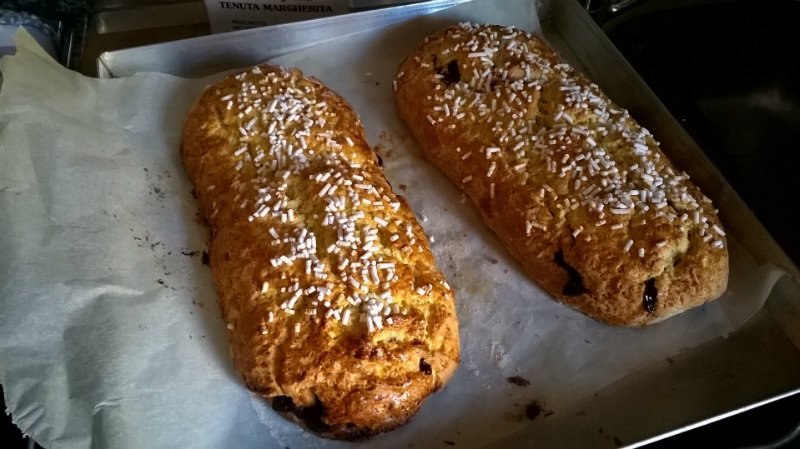 итальянский пирог из дрожжевого теста