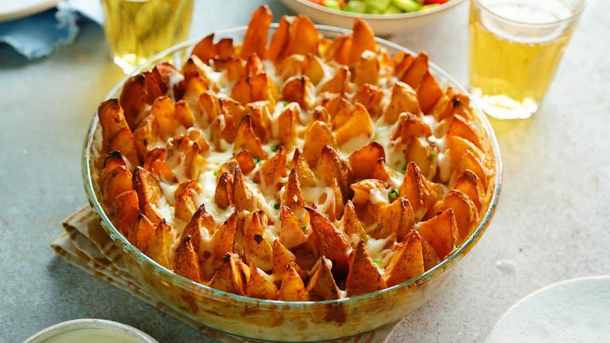 Вершкова картопля в духовці