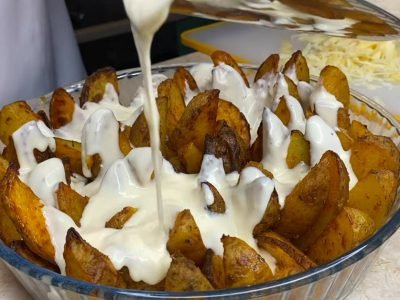 Сливочная картошка в духовке