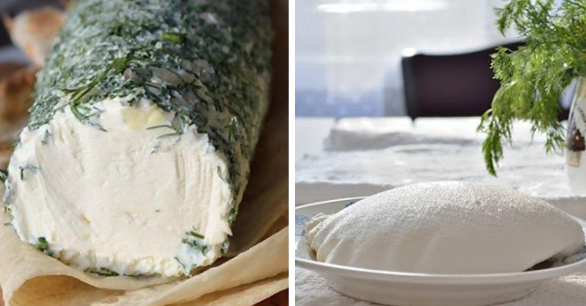 Сыр в домашних условиях со сметаной