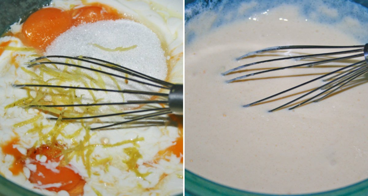 взбитое тесто для соложеника