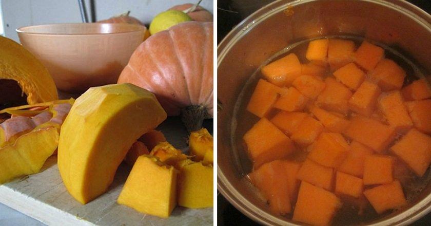 Сок из тыквы и апельсинов