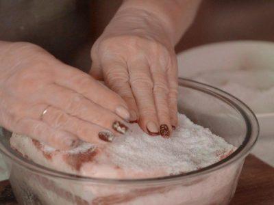 Соленое сало по-домашнему