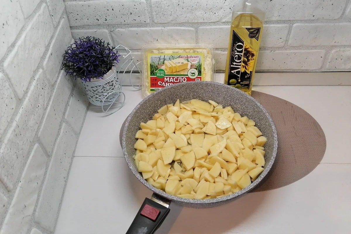 Оригінальне спагетті з картоплею