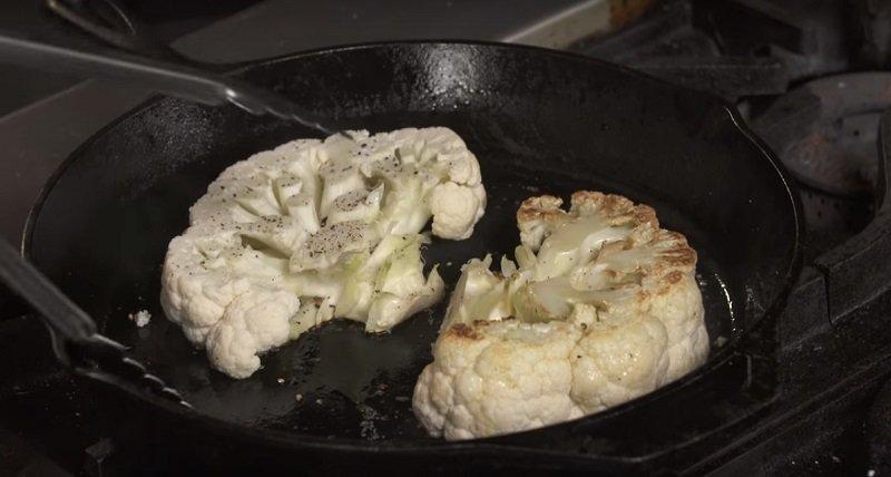 стейк из цветной капусты