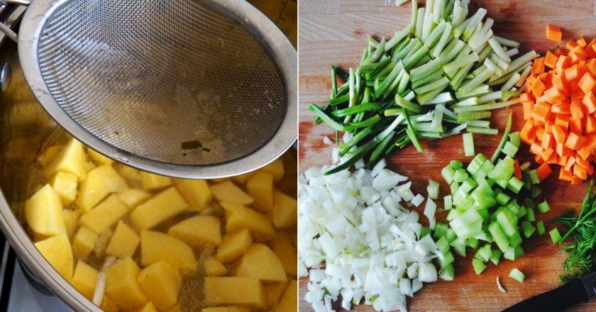 Суп з черемші - готуємо з покроковими фото