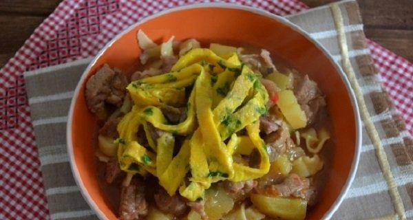казахский суп
