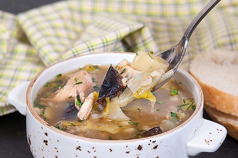 как сварить суп с перловкой