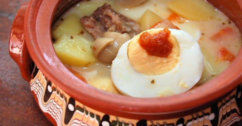 Суп «Журек»