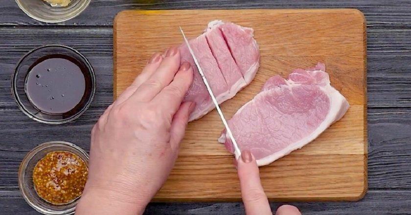 Свинина в бальзамическом соусе