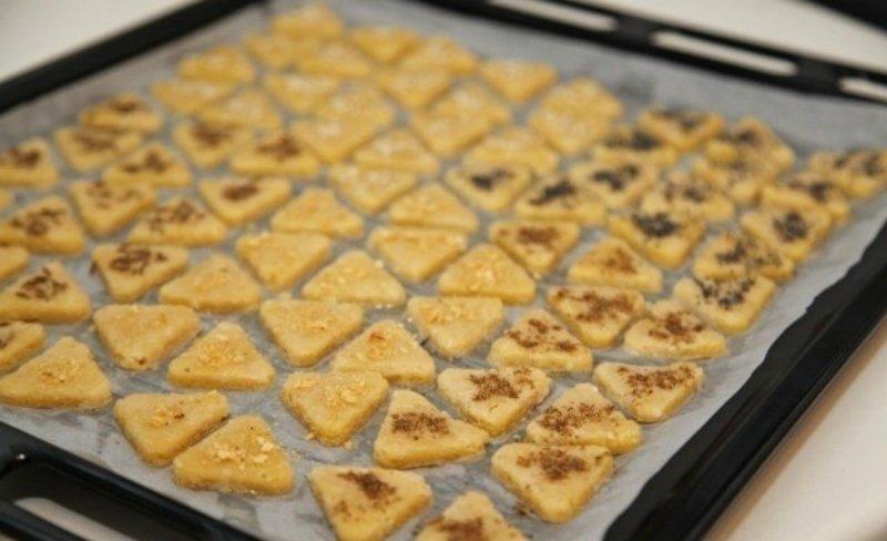 сырные треугольники