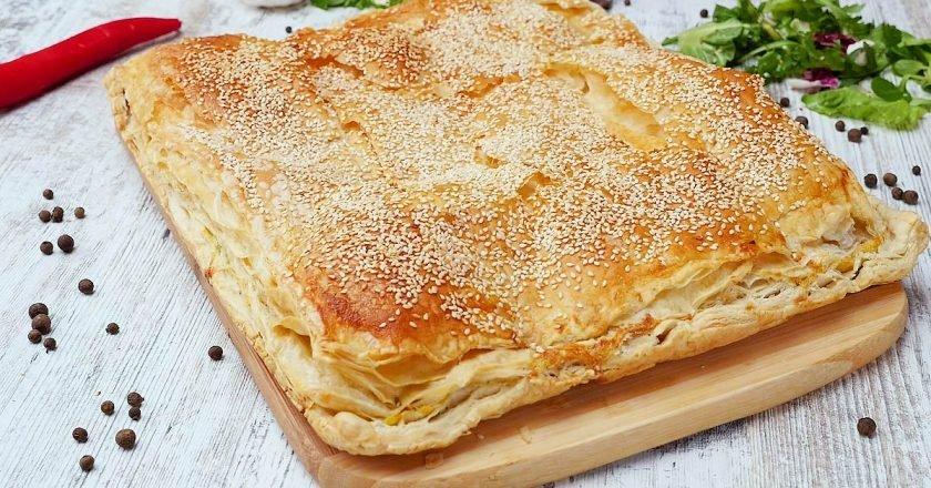 Сырный пирог по-гречески
