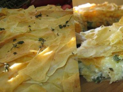 Сырный пирог