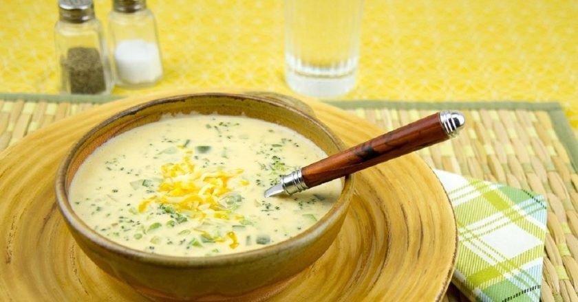 Сирний суп-пюре з куркою - готуємо з покроковими фото