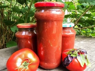 Как приготовить итальянский томатный соус на зиму