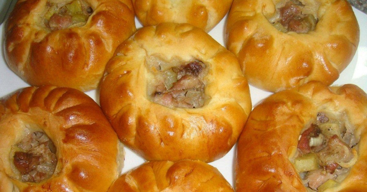 Пирожки с картошкой в духовке легко