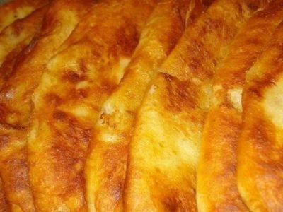 Тонкие пирожки с картошкой