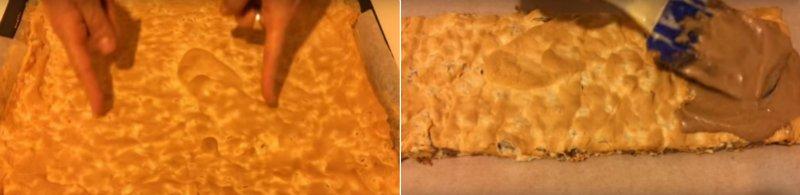 торт-безе без муки