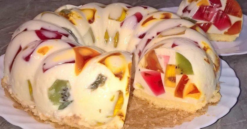 Торт «Бите скло» - готуємо з покроковими фото
