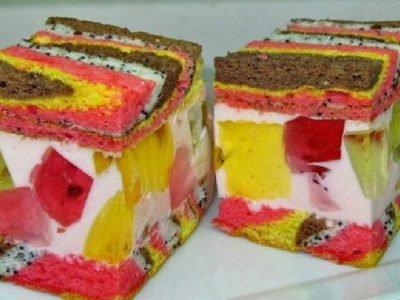 Торт «Цыганские тропы»