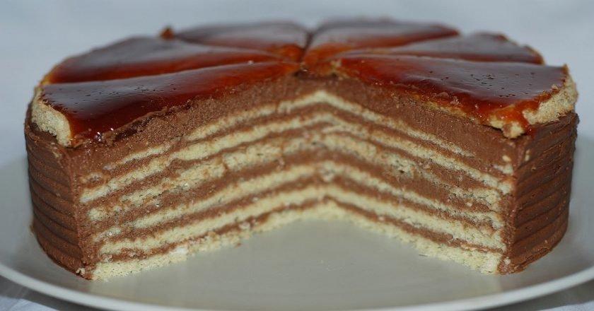 Торт «Добош» - готуємо з покроковими фото