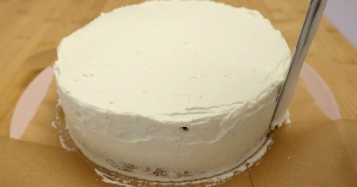 простой домашний торт