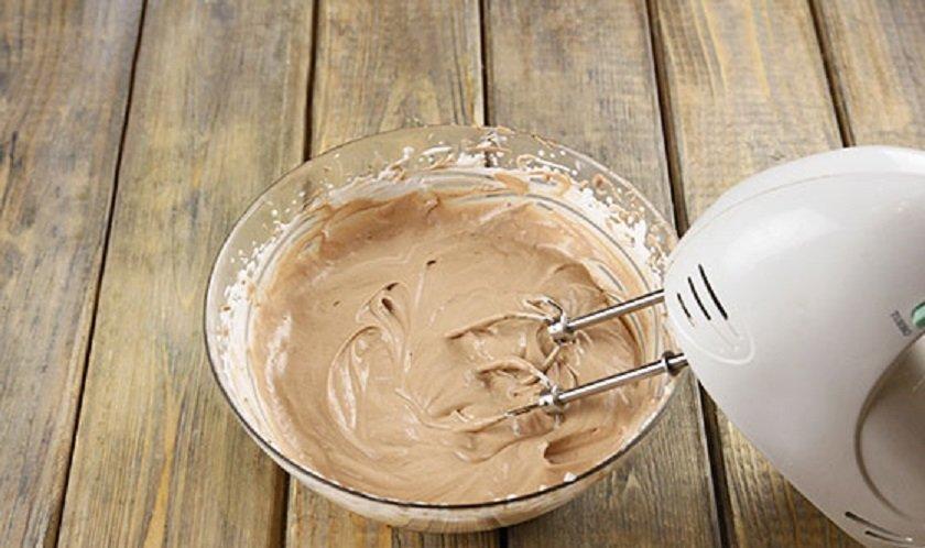 крем для торта из нутеллы