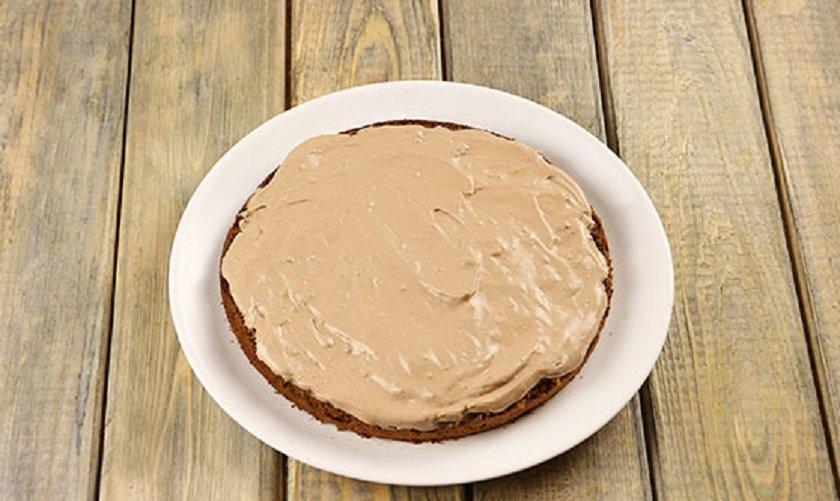 слой из крема для торта