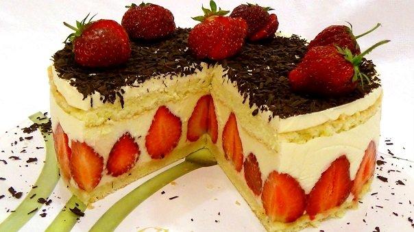 торт фрезье фото