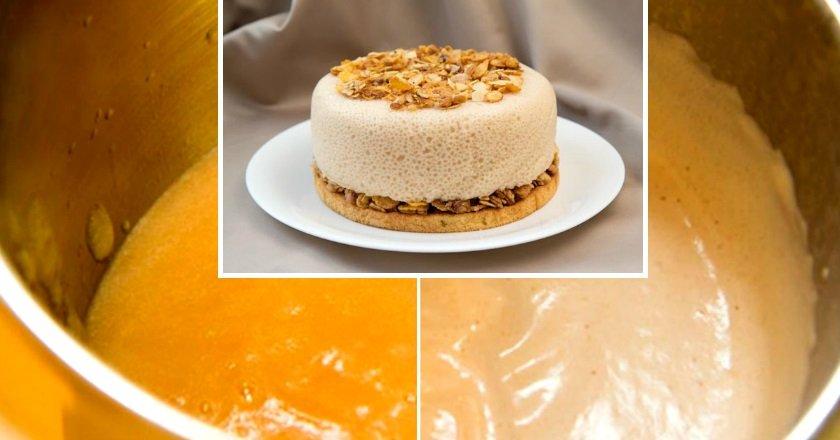 Торт «Грушево-ванильное облако»
