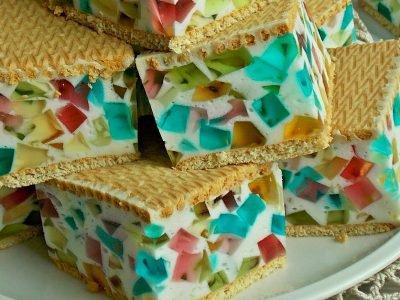 Торт из печенья «Битое стекло»